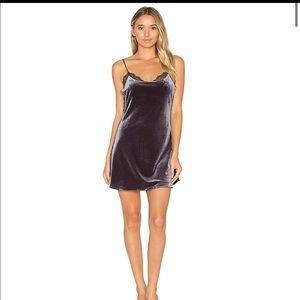 Free people velvet slip dress  (amazing condition)